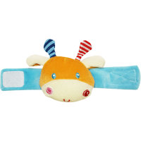 Wonderkids Orange Wrist Rattle Giraffe