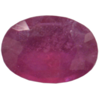 AKASH GANGA ORIGINAL 7.85 RATTI MANIK (RUBY) CERTIFIED BY OIGS