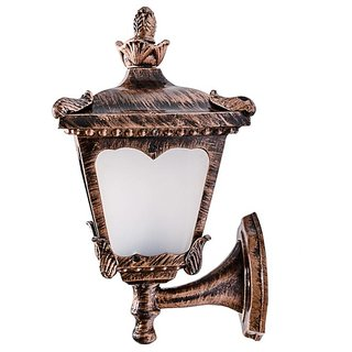 Fos Lighting Aluminum casted copper antique finish outdoor wall light