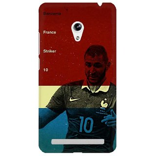 The Fappy Store Benzema Plastic Back Cover Asus Zenphone 5
