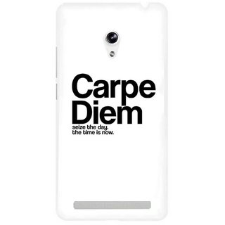 The Fappy Store Carpe-Diem Plastic Back Cover Asus Zenphone 5