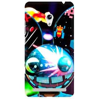 The Fappy Store Dead-Mau5 Plastic Back Cover Asus Zenphone 5