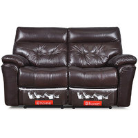 Two Seater Sofa With 2 Recliners Beverly - @home By Nilkamal