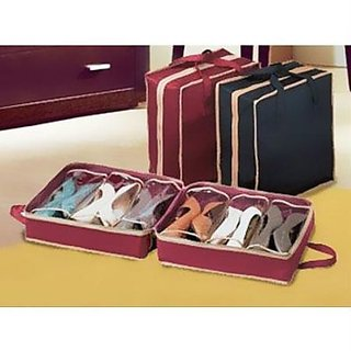 Shoe Tote The Perfect Shoe Organiser Shoes Rack Bag