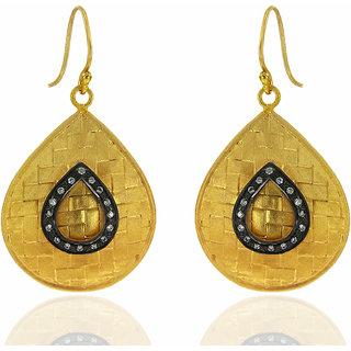 OyeSassy Stunning 925 Sterling Silver Dangle Earrings (Design 2)