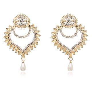 Vanila Jewels Gold PlatedMANGO SHAPE EARRING