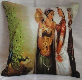 ASC Cotton Valvet Digitally Printed Cushion Cover 40 cms*40 cms