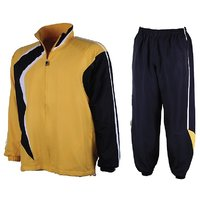 NAVEX Man's  Micro  Yellow & BlackTracksuits-S