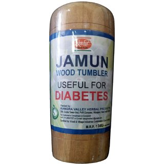 Jamun Wood Tumbler (Glass) (for diabetic patients)