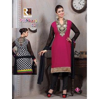 Cotton Salwar Suits, Unstiched Dress Materials