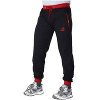 Black  Red 100 Cotton Running pyjamas For Mens