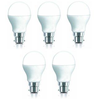 iAura 5W LED Bulb(White ,Pack Of 5 ) Image