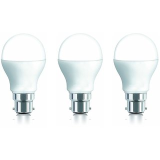 iAura 7W LED Bulb(White ,Pack Of 3 )