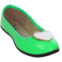 STYLAR Heart Candy Ballerinas ( N. Green)