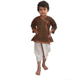 Ethnic Design Pure Cotton Dhoti Angarkha Set 206