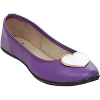 STYLAR Heart Punch Ballerinas (Purple)