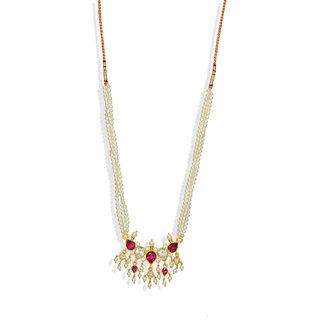 Pearl Tanmani Necklace