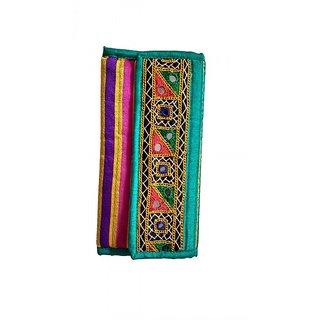 Ladies - Women Handicraft Wallet Handwork Multi patch with mirrors