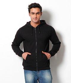 Merlin Black Hooded Sweatshirt