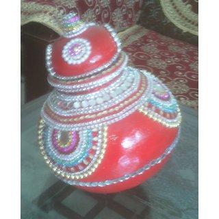 handmade wedding kalash