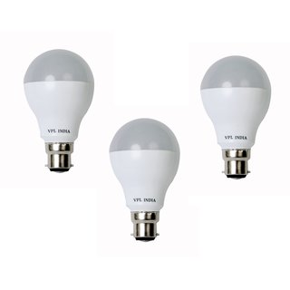 VPL India LED Bulb 9 Watt For 3 Piece