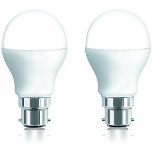 iAura 9W LED Bulb( White Pack of 2)