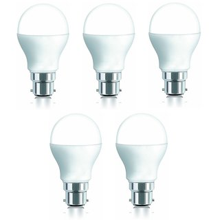 iAura 9W LED Bulb( White Pack of 5)