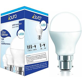 iAura 12W LED Bulb( White Pack of 1)