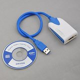 USB 3.0 To HDMI Display Cable Adapter For Extra Monitor HDTV LCD PC Multi Display