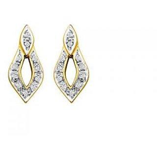 Avsar Real Gold And Diamond Fancy Earring # Ave063