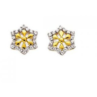 Avsar Real Gold And Diamond Traditional Earring # Ave079