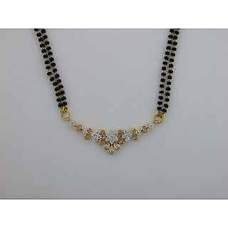 Avsar Real Gold And Diamond  Traditional Marriage Mangalsutra # Avn011