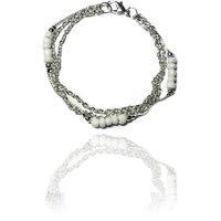 Beadworks Silver Bracelet For Women
