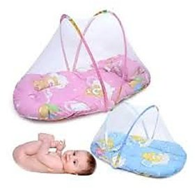 Baby Bedding with Mosquito Net