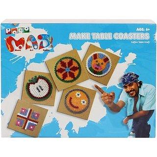 Toy Kraft Pogo Mad Make Table Coasters