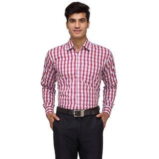 Rico Sordi Red Checks Shirt For Men (RSMS007F)