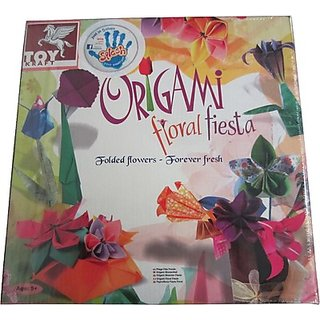 Toy Kraft Origami Floral Fiesta