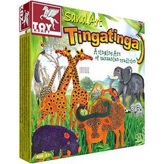 Toy Kraft Sand Art - TingaTinga