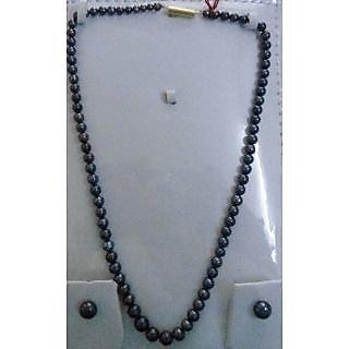 Classic Black Pearls Set