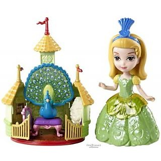 Disney Sofia the First Amber and Peacock Giftset BDK52 (Multicolor)