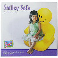 Suzi Smily Inflatable Sofa (Yellow)