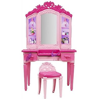 Barbie Princess Power Superhero Vanity Playset (Multicolor)