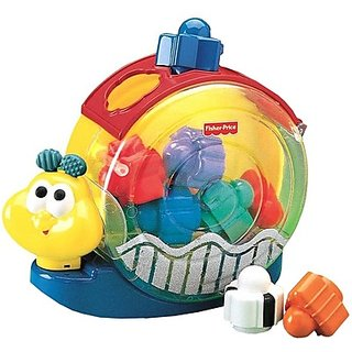 Fisher-Price Bee-Bop Building Singing Snail Pail