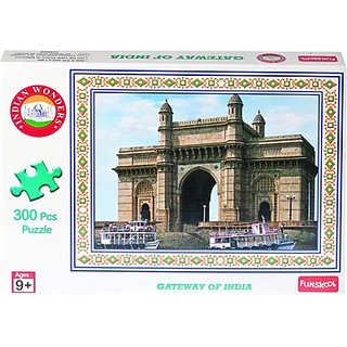 Funskool Indian Wonders Gate Way of Indiia 300 pcs Puzzle (300 Pieces)