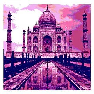 10 am Taj Canvas (Pink)