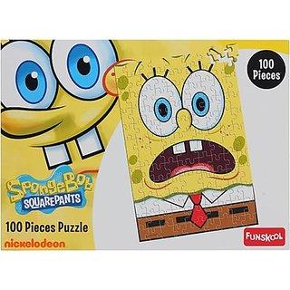 Funskool Sponge Bob (100 Pieces)
