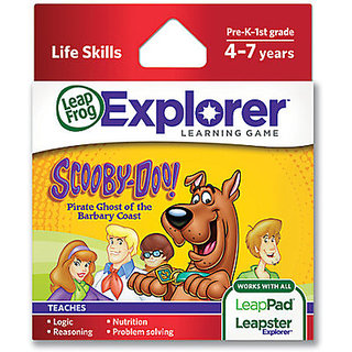 LeapFrog Leapster Explorer Game Scooby Doo (24 Pieces)