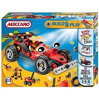 Meccano Build  Play Formula 1 (Multicolor)