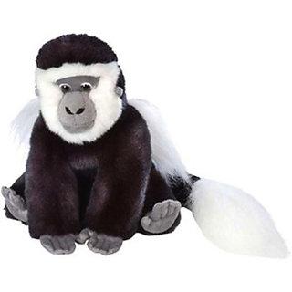 Wild Republic Colobus Monkey 12 inch - 8 inch (Multicolor)