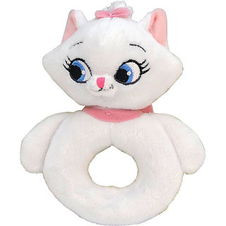 Disney Marie Ring Rattle - 6 inch (White)